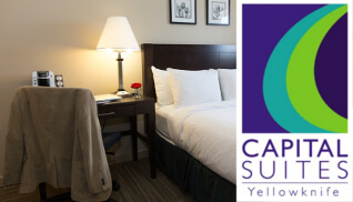 Special Hotel Rate: Capital Suites Yellowknife